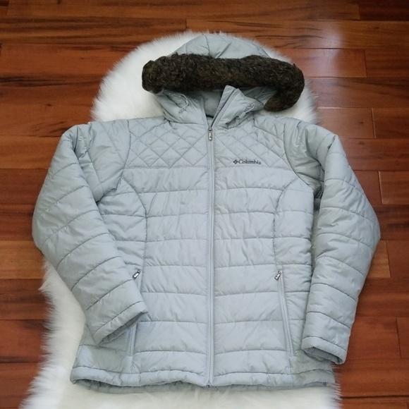 Columbia Women's Puffer Jacket, Size Small, Grey